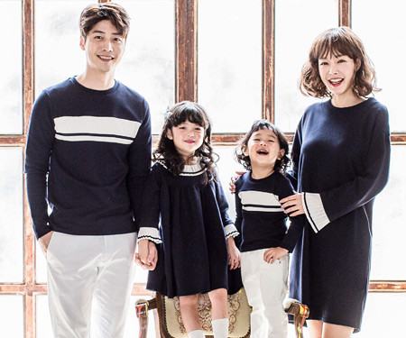 "<font color=""ffffff"">[Family long sleeve tea & family look] <br></font> Premium Mex family long sleeve_17C08"