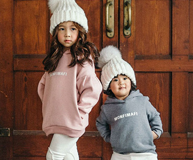 Brushed Montpemphy hooded baby long sleeve_16D10
