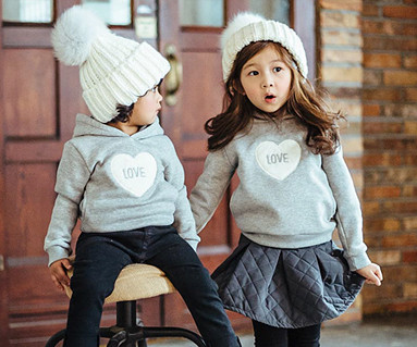 Brushed Cotton Family baby long sleeve_16D04