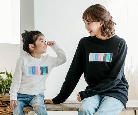 Montefiabo mother and baby long sleeve_17C09