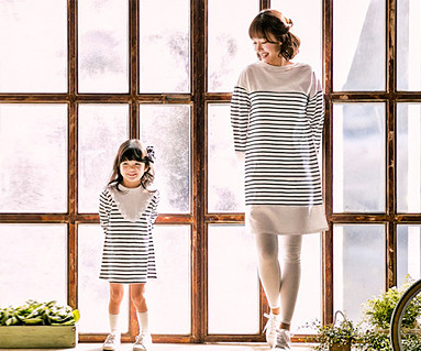 Anika ST Mother and baby long sleeve_17A06