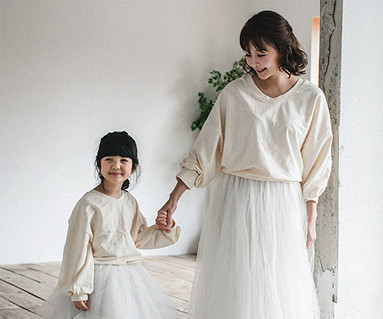 "<font color=""ffffff"">[Family long sleeve tea & family look] <br></font> Magic cardigan Mother and baby long sleeve_18A08WK"