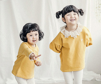 "<font color=""ffffff"">[Family long sleeve tea & family look] <br></font> Luna Lace baby long sleeve_18A05K"