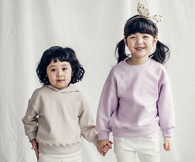 "<font color=""ffffff"">[Family long sleeve tea & family look] <br></font> Mary frill baby long sleeve_18A01K"