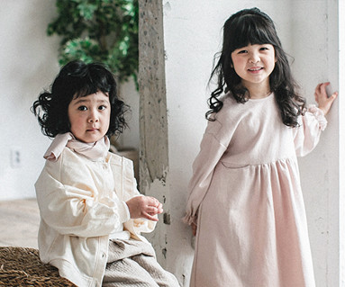 "<font color=""ffffff"">[Family long sleeve tea & family look] <br></font> Ludam dress baby long sleeve_18A06K"