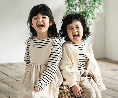 "<font color=""ffffff"">[Family long sleeve tea & family look] <br></font> Pure simple dress baby long sleeve_18A03K"