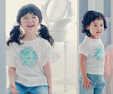 Blue marine baby short T-shirts_17B09K