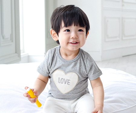 Cotton baby short T-shirts_15B15K