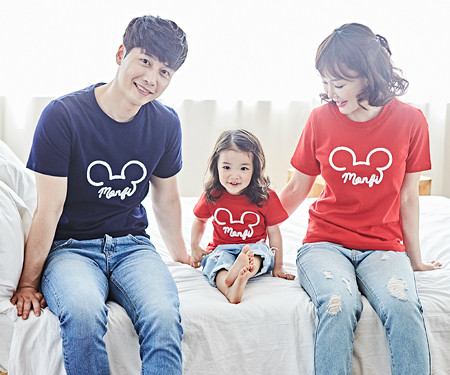 "<font color=""ffffff"">[Family long-sleeved tee & family look] <br></font> Montpelier family short T-shirts_18B05"