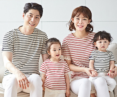 """<font color=""""ffffff"""">[Family long-sleeved tee & family look] <br></font> Diana + the day family short T-shirts_18B15"""