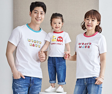 "<font color=""ffffff"">[Family long-sleeved tee & family look] <br></font> Montpey family short T-shirts_18B19"