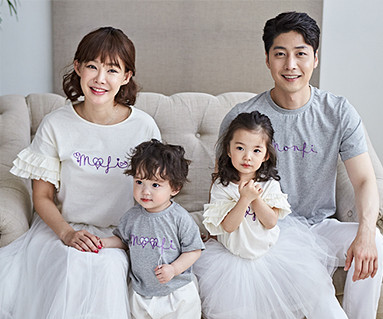 "<font color=""ffffff"">[Family long-sleeved tee & family look] <br></font> Ralphy Poly family short T-shirts_18B17"