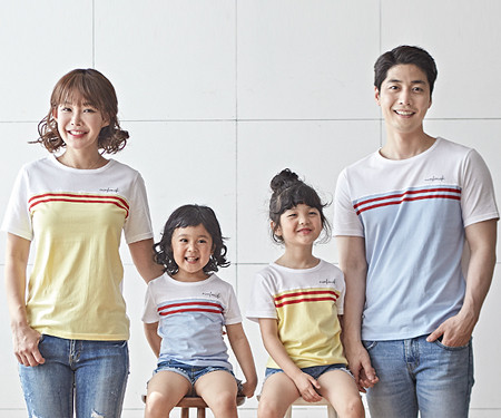 "<font color=""ffffff"">[Family long-sleeved tee & family look] <br></font> Candy family short T-shirts_18B24 <font color=""red""><b> </b></font>"