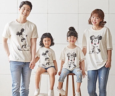 "<font color=""ffffff"">[Family long-sleeved tee & family look] <br></font> Petit Mickey family short T-shirts_18B22 <font color=""red""><b> </b></font>"