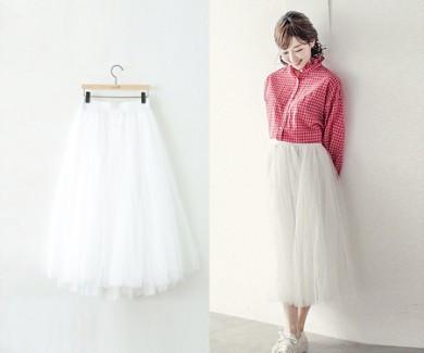 women's ballet Skirt 18A35 / big-size clothes, women's clothes