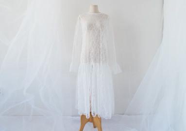 """<font color=""""ffffff"""">[Family One-man & Unisex] <br></font> Shoe lace dress 18D07F / dress"""