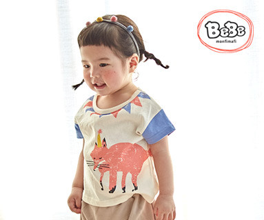 "<font color=""ffffff"">[Family Short Sleeve Tee & Family Look] <br></font> Fox Hit T 19S140 / Kidswear, Children's Wear, Kids Look"