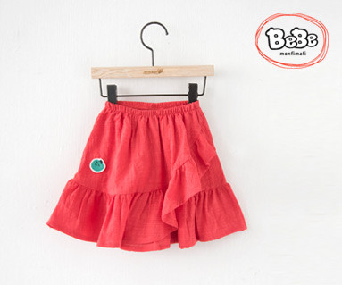 """<font color=""""ffffff"""">[Family Short Sleeve Tee & Family Look] <br></font> Love skirt 19S137 / children's clothes, children's clothes, kids look"""
