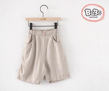 "<font color=""ffffff"">[Family Short Sleeve Tee & Family Look] <br></font> nature Linen pants 19S71 / Kids wear, kids clothes, kids look"