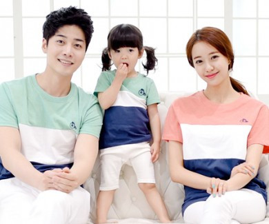 Trinity round family short T-shirts_15B04