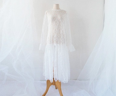 Shoe Lace dress 18D07F / dress