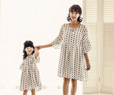 """<font color=""""ffffff"""">[Family short T-shirts Tees & Family Looks] <br></font> Mariang mother and baby short T-shirts_17B22"""