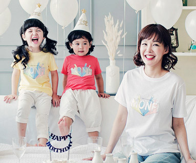 """<font color=""""ffffff"""">[Family short T-shirts Tees & Family Looks] <br></font> Montpicala mother and baby short T-shirts_17B06<font color=""""#FF6666""""><strong>[Order available]</strong></font>"""