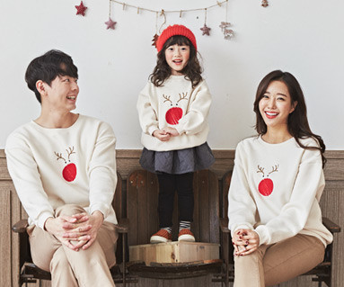 "<font color=""ffffff"">[Family long sleeve tee & family look] <br></font> family Brushed Rudolph Long Man to man long sleeve 19D04 <font color=""red""><b> </b></font>"