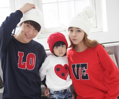 Brushed Heart Star long sleeve