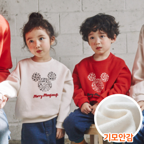 "<font color=""ffffff"">[Family Long Sleeve Tee & Family Look]<br></font> Brushed Snowflake Children Man to man 20D04<font color=""red""><b> </b></font>"