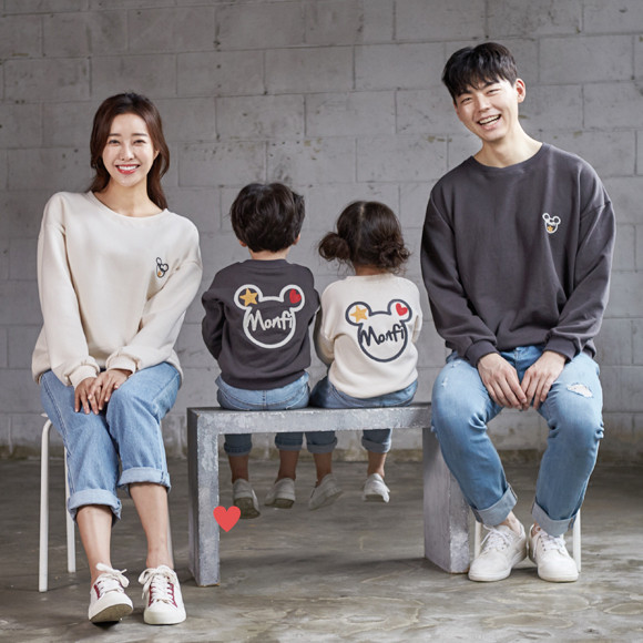 """<font color=""""ffffff"""">[Family Long Sleeve Tee & Family Look]<br></font> family Mamma Mia Man to man 20C02<font color=""""red""""><b> </b></font>"""