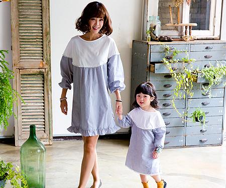 Rococo Family Mom and Baby long sleeve_16C14