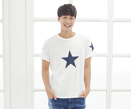 "All Star round male short T-shirts_14B39 <font color=""#FF6666""><strong>[Order available]</strong></font>"