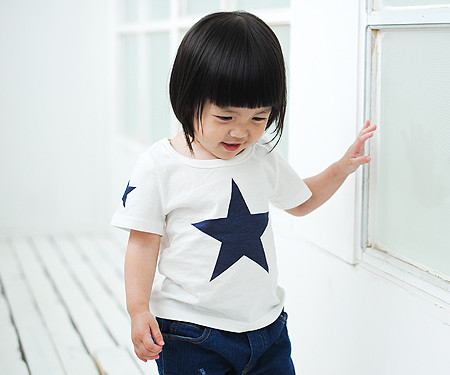 """All Star round baby short T-shirts_14B39 반팔 <font color=""""#FF6666""""><strong>[Order available]</strong></font>"""