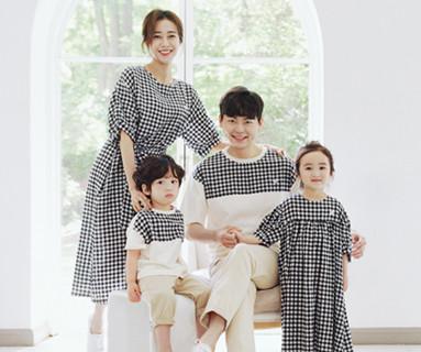 """<font color=""""ffffff"""">[Family short T-shirts tea & family look] <br></font> Apple Jam Family short T-shirts 20B05/ Family Look, Family Photo Costume <font color=""""red""""><b> </b></font>"""