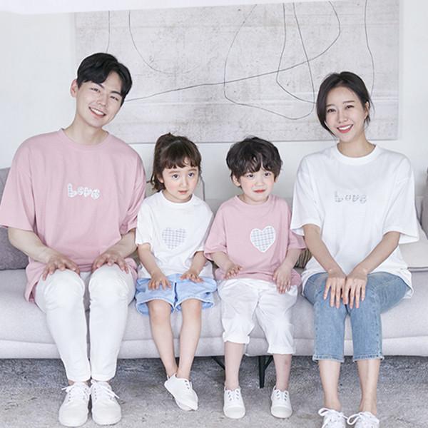 Sky short T-shirts family 21B08/ family look, family photo costume