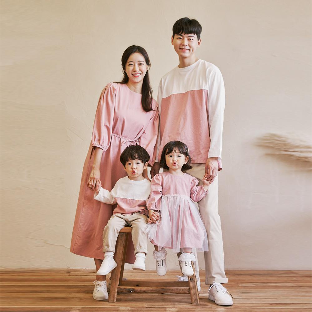 Elisha long sleeve family 21C05/family look, family photo costume