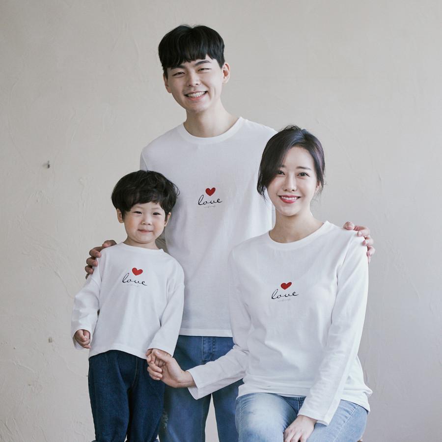 Long sleeve family 21C01/family look, family photo costume
